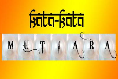 100 Kata Kata Mutiara 2012 Penuh Makna
